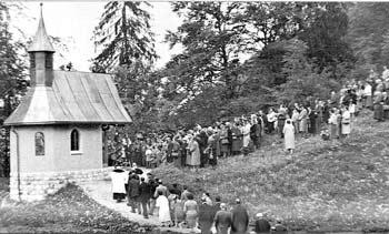 Que sont les âmes victimes? Actes d'offrande de saints et mystiques Chapelle-de-Sonntag