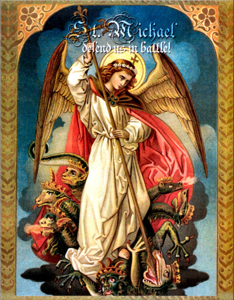 st Michael, defend us in battle