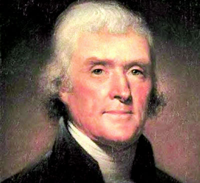 the convictions of thomas jefferson dbq Thomas jefferson was under enormous pressure and unyielding time constraints when he first sat down  the document specifically embraced two radical convictions:.