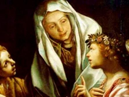 Enseignement de Jésus : Existence de l'Enfer  Sainte-francoise-romaine