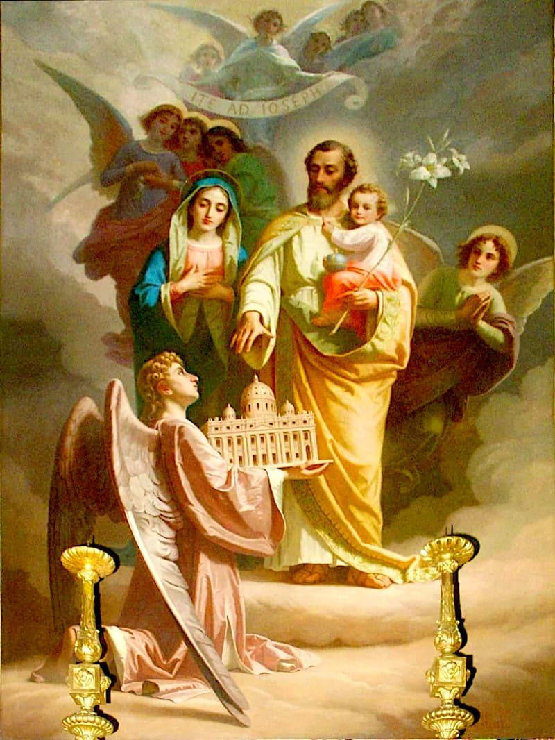 Saint Joseph, gardien du Rédempteur