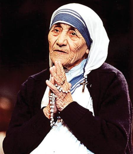 Le fan de Mère Teresa de Calcutta