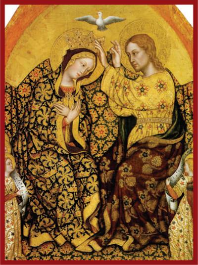 Marie est couronnée Reine du ciel et de la terre