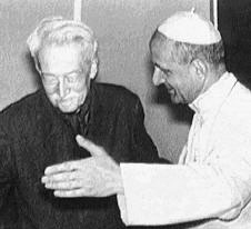 Jacques Maritain et Paul VI